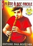 Partition : Flute a bec facile vol.1 + CD...