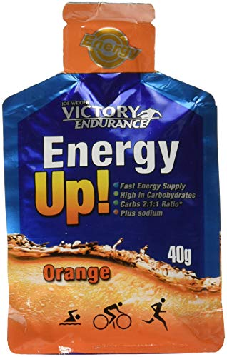 Victory Endurance Gel Energy Up, Arancia, 24 x 40 g