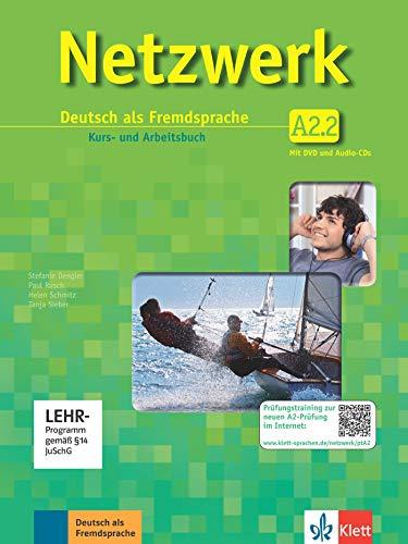 Netzwerk a2, libro del alumno y libro de ejercicios, parte 2 +...
