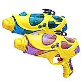 INTVN 2 PCS Pistolas de Agua para Niños Adultos Super Pistola para niños Adultos Pistolas de Agua plástico para...