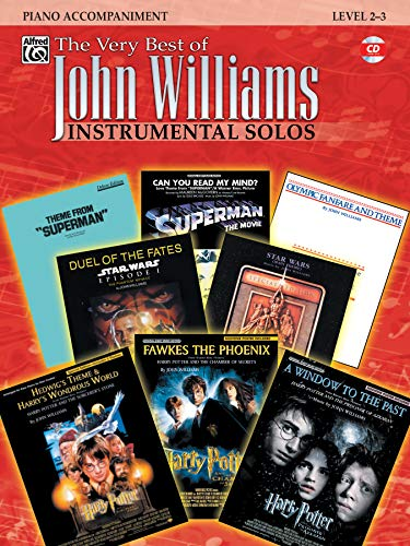 The Very Best of John Williams: Piano Acc., Book & CD