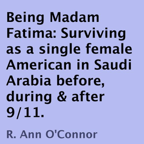 Being Madam Fatima audiobook cover art