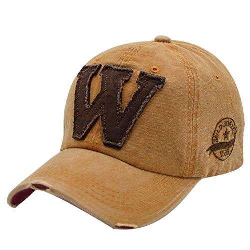 iParaAiluRy Retro Cotton Baseball cap Cappello da Baseball Unisex per Maschi e Femmine, Uomo e Donna - Tempo Libero Cappellino per Ambientazione Esterna, Sport, Viaggi, Safari, Tennis, Running, Golf