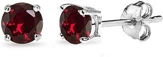 Best silver ruby stud earrings Reviews