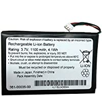 電池パックGARMINバッテリーGARMIN GPS Nuvi 2300 2350 2360 2370 Edge 800 810 361-00035-00交換用のバッテリー 電池互換内蔵バッテリー3.7V 1100mAh/4.1Wh