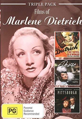 Films of Marlene Dietrich ( The Devil Is a Woman / Desire / Pittsburgh ) [ Australische Import ]