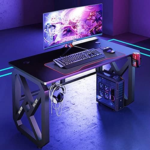 Fashion boy cool game mesa mesa de computadora de escritorio hogar simple y moderno se puede montar mesa de escritorio mesa de café de Internet 140X60X75
