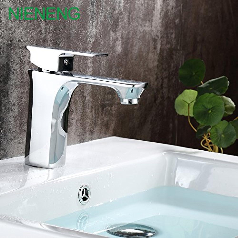 Retro Deluxe Faucetinging bad Mischer Kupfer Chrom Wasserhahn Waschtisch Armaturen Waschbecken WC tippen Badewanne Wasser Kabinett wc Armaturen Grohandel ICD 60291 wurden, Chrom