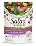 Salad Pizazz! Dried Raspberry Flavored Cranberries & Glazed Walnuts Salad Topper, 4OZ (4 O...