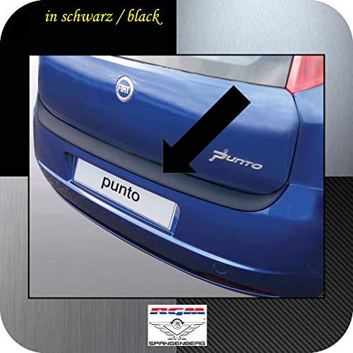 Richard Grant Mouldings Ltd. Original RGM Ladekantenschutz schwarz passend für FIAT Grande Punto 3- und 5- Türer bis Baujahr 09.2009 RBP133