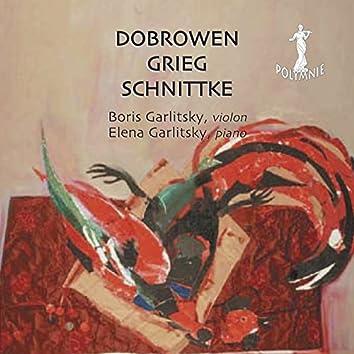 I. Dobrowen, E. Grieg, A. Schnittke