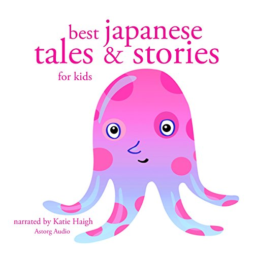 『Best Japanese Tales and Stories for Kids』のカバーアート