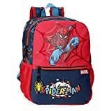 Marvel Spiderman Pop Zaino adattabile al carrello Multicolore 25x32x12 cms Poliestere 9.6L