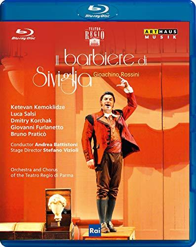 Rossini: Der Barbier von Sevilla / Parma [Blu-ray]