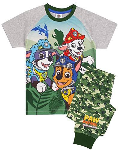 Paw Patrol Pijama Camiseta de Camuflaje para niños con Parte inferi 2-3 años