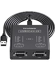 デュアルチャンネル USB - CAN コンバーター Raspberry Pi4/Pi3B+/Pi3/Pi Zero(W)/Jetson Nano/ティンカーボード/あらゆるSBCs/デスクトップおよびノートパソコン対応 Windows LinuxおよびMac OS対応