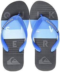 Quiksilver Molokai Word Block Youth, Zapatos de Playa y Piscina para Niños, Azul (Blue/Black Xbkb), 36 EU