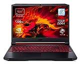 "Foto Acer Nitro 5 AN515-54-76RJ Notebook Gaming, Intel Core i7-9750H, Ram 16GB DDR4, 1024GB SSD, Display 15.6"" FHD IPS 120Hz slim bezel LCD, Nvidia GeForce GTX 1660Ti 6GB, Pc Portatile, Windows 10 Home"
