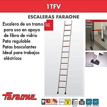 ESCALERA PROFESIONAL 1TFV FARAONE. LCS (1TFV.400. 14Peldaños): Amazon.es: Bricolaje y herramientas