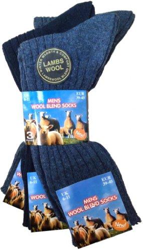 HDUK Mens Socks Herren Socken Blau Blautöne