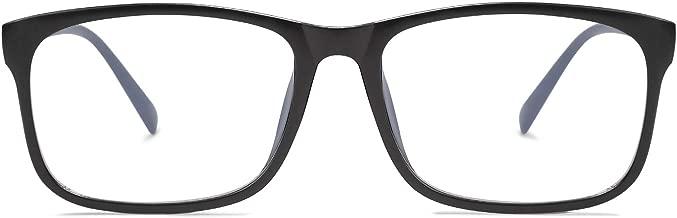 SOJOS Blue Light Blocking Glasses Square Eyeglasses Frame Anti Blue Ray Computer Game Glasses SJ5034