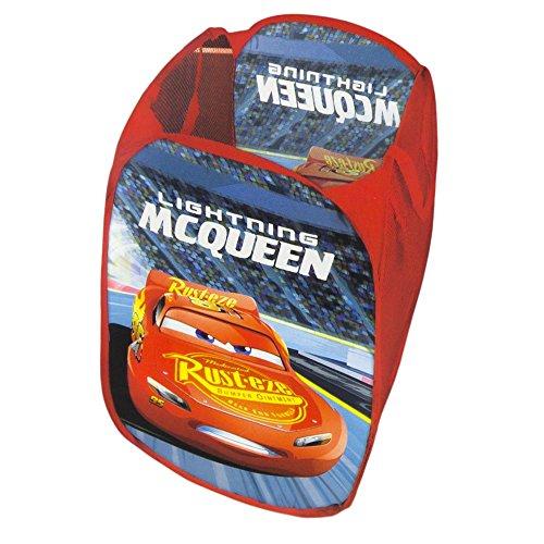 Panier porte jeux de rangement disney cars 3