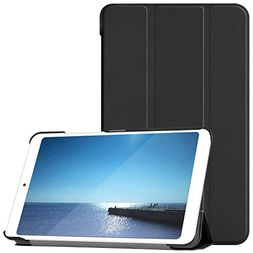 Cubierta de la caja del ELTD Xiaomi Mi Pad 4, piel ultra liviana con función del soporte Cubierta del caso elegante de la cubierta del tirón para Xiaomi Mi Pad 4 7.9 tableta de la pulgada, azul