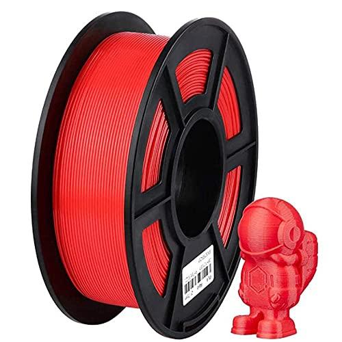 Filamento PLA 1 kg, filamento stampante 3D 1,75 mm, utilizzato per stampante 3D e penna 3D-rosso