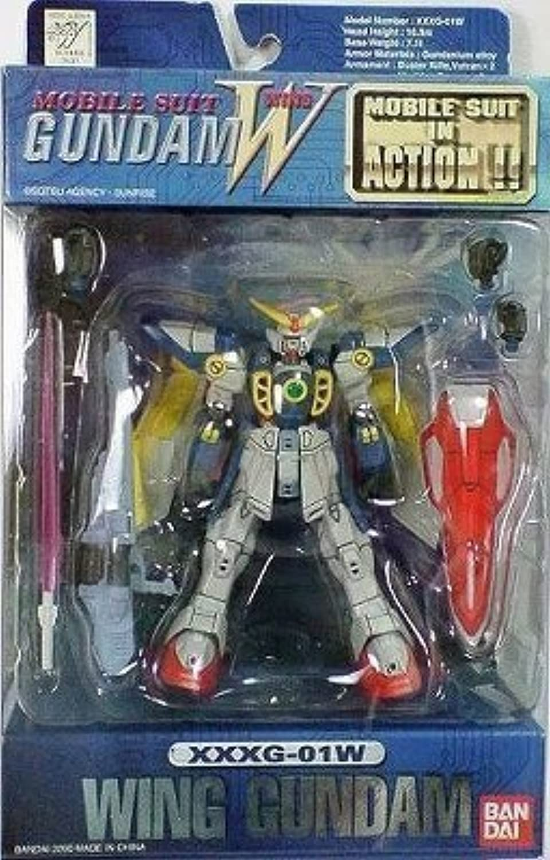 Wing Gundam XXXG01W Action Figure (japan import)