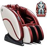 Sillones de masaje de cuerpo completo y la gravedad cero reclinable silla de masaje eléctricos con una función de Corazón rodillo del pie de aire Masaje