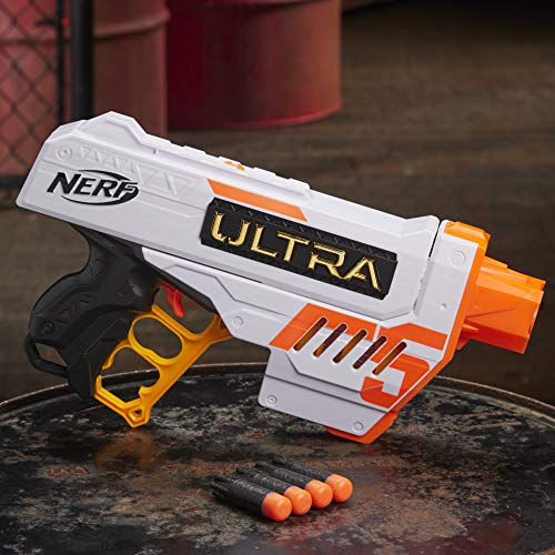 The Nerf Ultra Five performs reasonable well