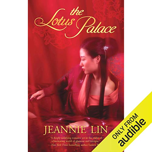 The Lotus Palace audiobook cover art