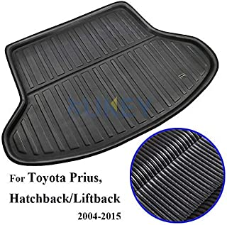 For Prius 2004 2005 2006 2007 2008 2009 2010 2011 2012 2013 2014 2015 Tailored Boot Liner Cargo Tray Rear Trunk Liner Floo...