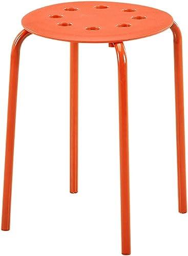 Vuelta de 10 dias Taburete rojoondo Creativo de de de la Silla de Taburete de plástico (Color   B)  suministramos lo mejor