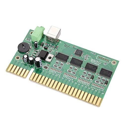 ASHATA Arcade USB Encoder Board, 28P game console, moederbord, controller, USB PC to Jamma, PC USB I/O Arcade accessoires, besturingspaneel module board voor Jamma Mainboard