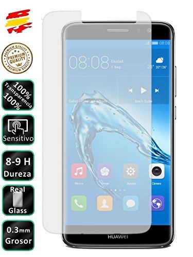 Movilrey Protector para Huawei Nova Plus Cristal Templado de Pantalla Vidrio 9H para movil