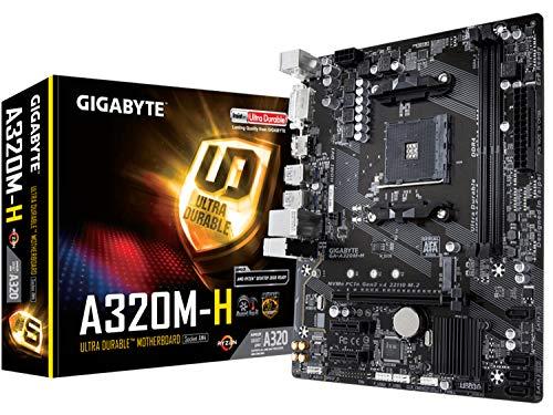 Placa Mãe GIGABYTE AMD GA-A320M-H AM4 AMD DDR4 GIGABYTE