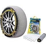 スノーグリップ テックス(SNOW GRIP TEX) 布製 タイヤチェーン 簡単取り付け 雪道 滑り止め TX-3 作業用手袋付