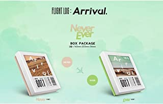 GOT7 - FLIGHT LOG : ARRIVAL [Never ver.] CD+Photobook+Photocard+Official Folded Poster+Extra Photocard