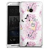 DeinDesign Coque Compatible avec HTC One M7 Étui Housse Mode Parfum Chaussures