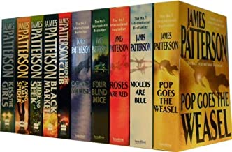 James Patterson Collection 10 Books Set RRP £79.90 (Pop Goes the Weasel, Violets are Blue, Jack and Jill, Four Blind Mice,...