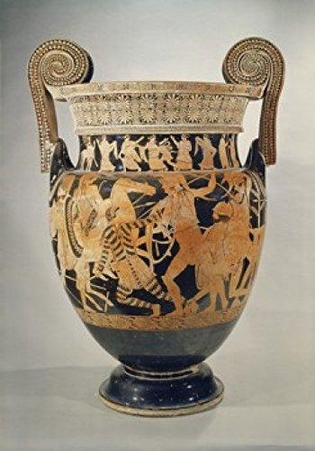 Panatenaic Amphora (Vase) Greek Art Museo Archeologica Naples Italy Poster Drucken (60,96 x 91,44 cm)