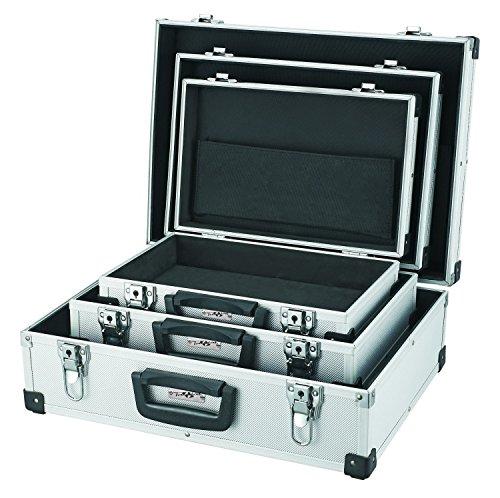 TrendLine Werkzeugkoffer 3er Set Alu Alukoffer Transportbox Sortimentskoffer