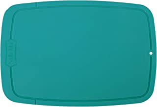 Salle Ma Premium TPU cutting board, Flexible, Less Scratch, Dishwasher Safe, BPA free, Knife friendly, Recyclable Material, Non-Slip (Green)