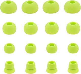 JNSA Green Replacement Earbud Tips for Beats Powerbeats3 Wireless Stereo Headphones 16PCS 8 Pairs 4 Size Option - Small, M...