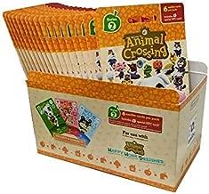 Animal Crossing Amiibo Cards Series 2 – Full box (18 Packs) (6 Cards Per Pack/108 Cards) (Renewed)