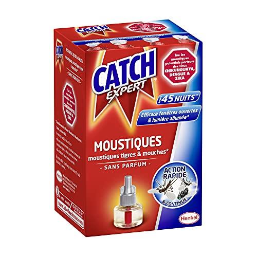 Catch Expert Moustiques – Recharge Liquide pour Diffuseur El