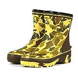 [キャプテンスタッグ] 作業靴 長靴 レインブーツ ショート 3E 軽量 ゴム底 CS-3 カモフラ (Mサイズ(25.0-25.5cm))
