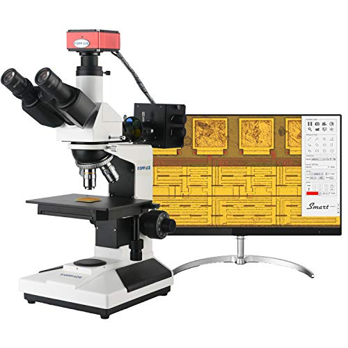 KOPPACE HDMI HD 2 Million Pixels 50X-400X Metallurgical Microscope Can Be Measured on The Screen Taking Pictures and Videos