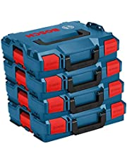 Bosch L-Boxx set - 4 x L-Boxx maat 1/102 nieuwe uitvoering zonder inzetstukken L-BOXX.
